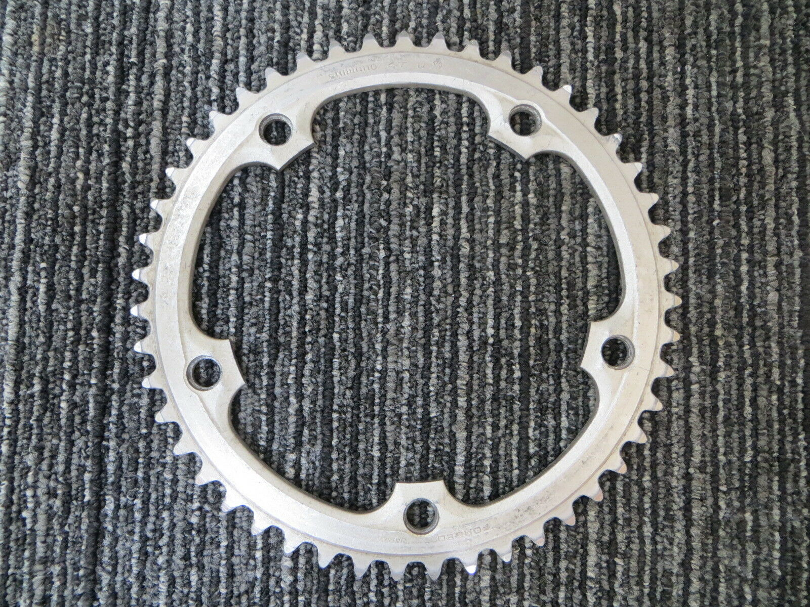 Shimano Dura Ace Forged 151BCD 1 8   NJS Chainring 47T (18062411)