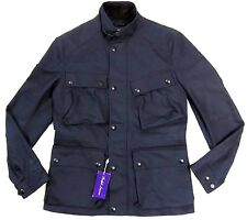 $1495 Ralph Lauren Purple Label Military Cargo Water Repellent Safari Jacket M