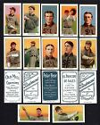 1909-1911 White Border ST.LOUIS BROWNS Team T206 CCC REPRINT tobacco 22 card set