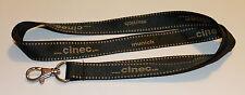cinec Film + TV Messe Schlüsselband Lanyard NEU (T133)