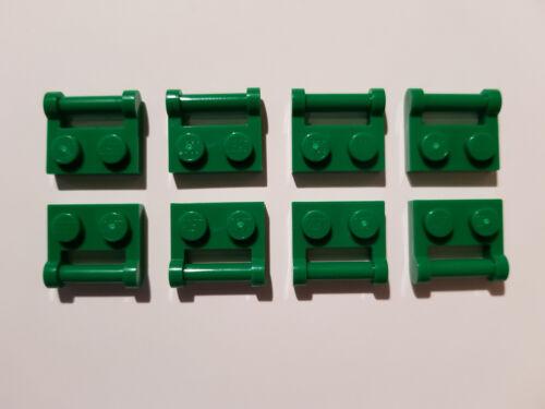 #AA53 LEGO® 8 x 48336 Platte 1 x 2 mit Griff Halter grün 4521931 modifiziert