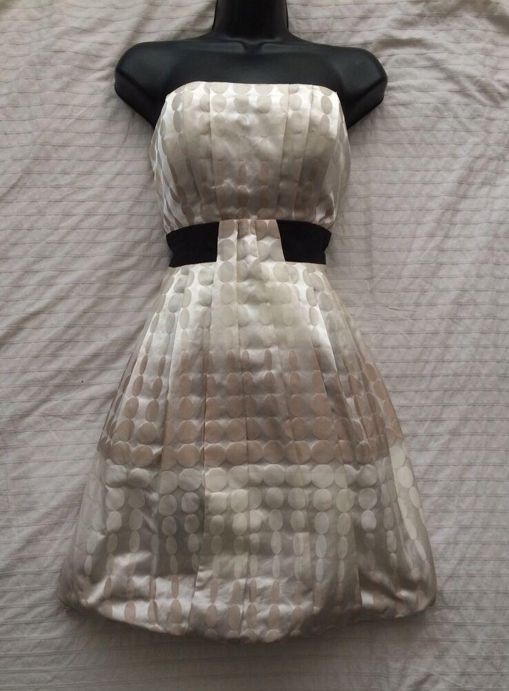 (#2284) Max And Cleo Nouveau! Nous Designer Robe (nordstroms Etc) Taille 10 Uk