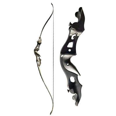 20-55lbs Bogenschießen 58/'/' Takedown Recurve Bogen Aluminiumlegierung Riser Jagd