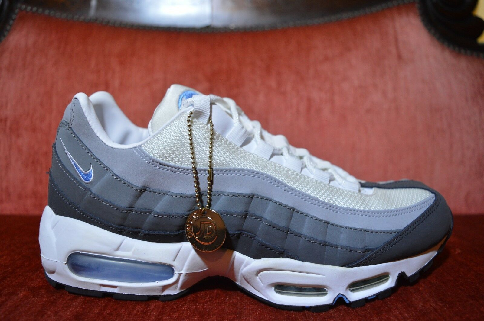 0bfef1b0eb RARE Nike Air Max 95 JD Sports Exclusive 329393-006 Size DS bluee White SI  10 nzvgkh1505-Athletic Shoes