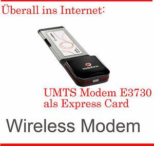 Umts Stick Routeur Express Card E3730 Simlock Gratuit IBM Thin Pad T60 Toutes