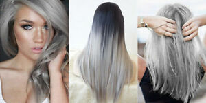Delightful Image Is Loading Best NO A21 Light Gray Ash Color Hair  Design Ideas