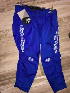 Trousers Motocross Blue Troy Lee Designs Size 34 Us L Great Value Ebay