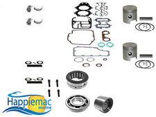 Johnson Evinrude 40 50 60 HP 2 Cyl Powerhead Piston Gasket Bearing Rebuild Kit