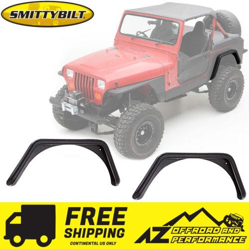 "Smittybilt XRC Armor 3/"" Bolt-On Flares for Corner Guards 87-95 Jeep Wrangler YJ"