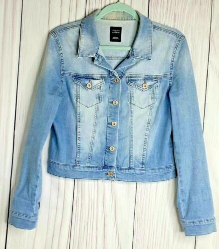 "Mavi Jean Jacket S Women Cotton Metal Buttons ""Sam"
