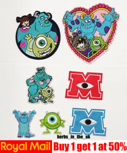 Disney Monsters Inc University Patch Badge Monsters University ( 7 styles )