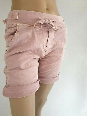 38-42 Cooler Sommerstyle  Baggy Shorts in Neonfarben Jogg Pants Eyecatcher Gr