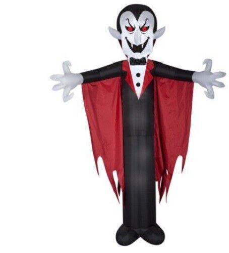 Halloween Airblown Gonflable Vampire avec Cape Cape avec 3.7m M Haut Neuf ab0e25