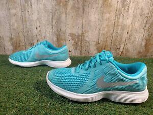 Nike-REVOLUTION-4-GS-943306-400-Aqua-Blu-Scarpe-Da-Corsa-Taglia-5-UK-38-EUR