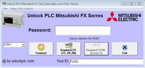 Crack Password PLC Mitsubishi FX3U
