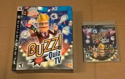Buzz Quiz Tv Buzz Quiz World Sony Playstation 3 2008 2009