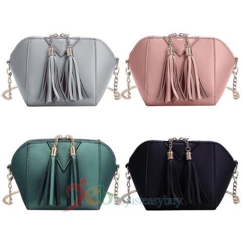 Women Handbag Shoulder Bag Tote Purse PU Leather Messenger Hobo Bag Satchel New