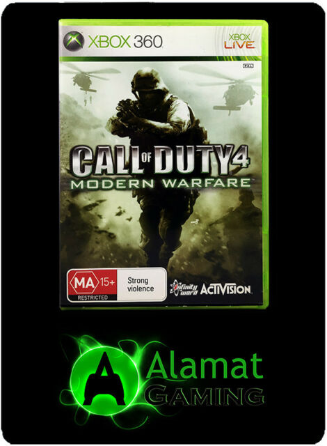 Call of Duty 4 Modern Warfare (Xbox 360) Very Good - Fast Post - Shooter - PAL