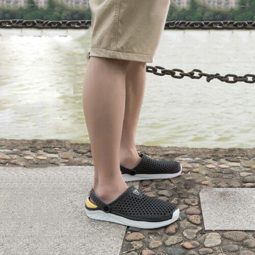 Männer Schuhe Männlich Schuhe Sommer Clogs Bequem Freizeitschuhe Leicht
