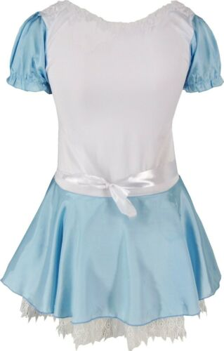 Authentic Alice in Wonderland Costume Small and Plus Size Halloween Fancy Dress