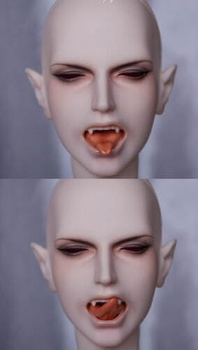 Bjd 1//3 Doll Vampire INFERNALE Male CLASS80 Free Eyes+Face Up Two Tongus Parts