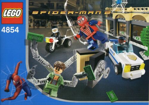 LEGO 4854 SpiderMan Doc Ock's Bank Robbery Complete