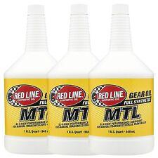 Redline MTL Aceite de Engranaje de transmisión manual 75W80 3 US Cuarto De Galón/2.84 litros