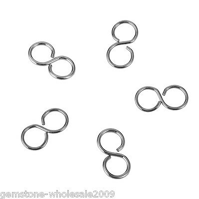 """250PCs Hot Silver Tone Stainless Steel Round Pendants 10mm 3//8/"""""""
