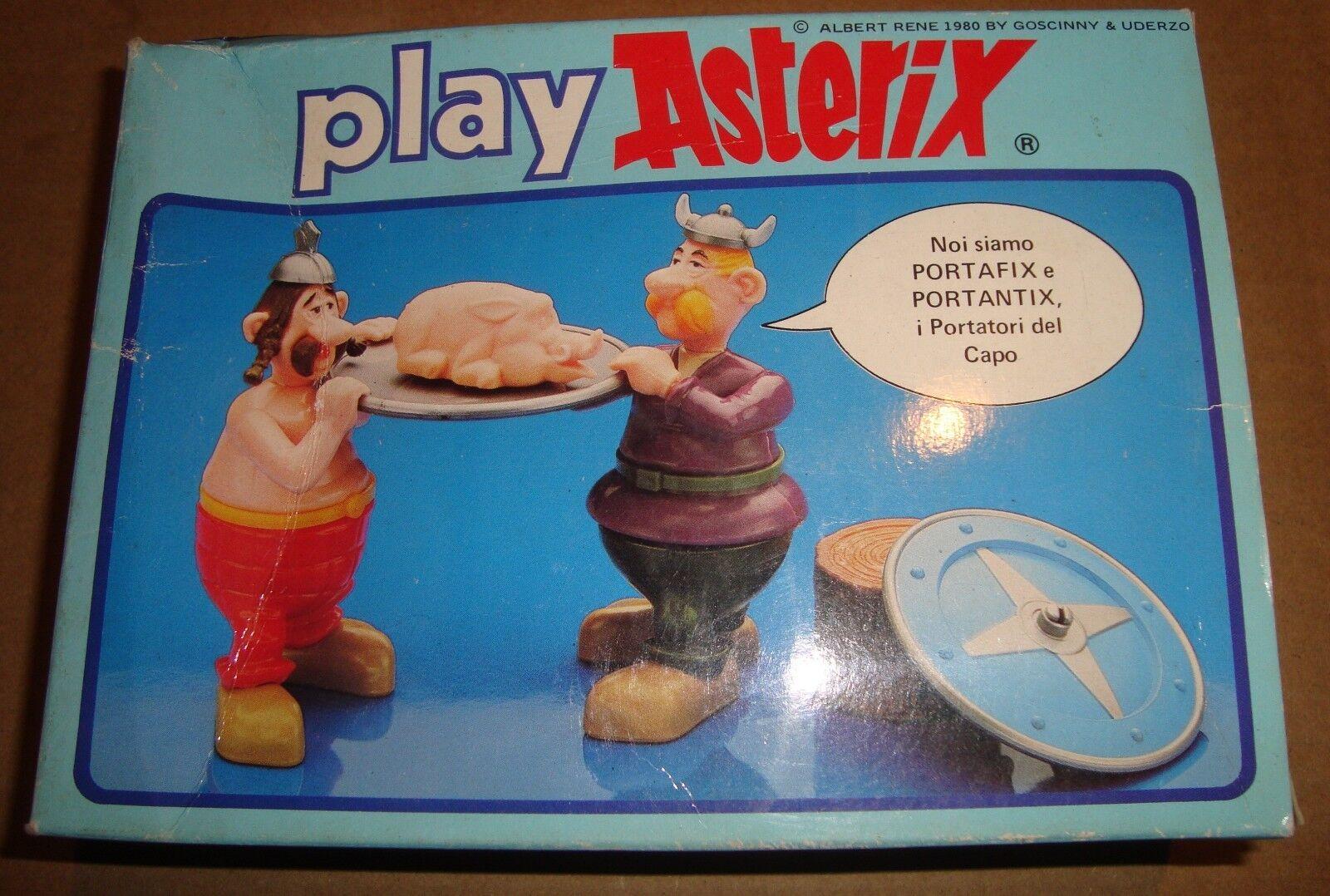 PLAY ASTERIX 6214 PORTAFIX E PORTANTIX MOLIMPORT TOY CLOUD 1980