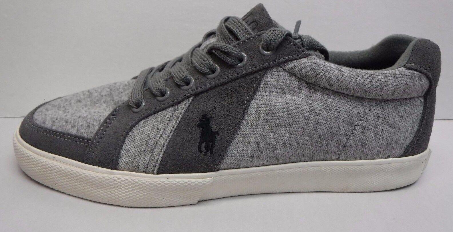 Scarpe casual da uomo Polo Ralph Lauren Size 14 Gray Sneakers New uomos Shoes