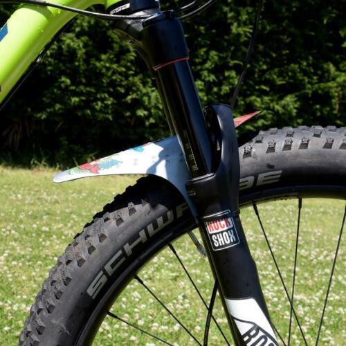 Front MTB Mudguard RideGuard PF1 Mountain Bike Fender RECYCLED PLASTIC Paschar