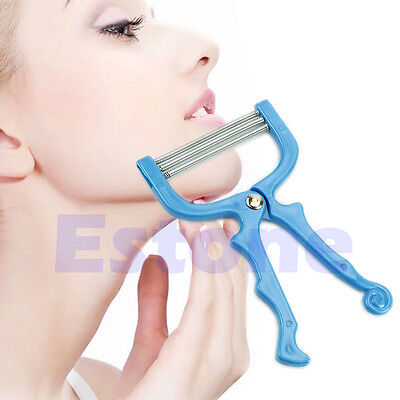 1 Pc New Handheld Facial Hair Removal Threading Beauty Epilator Tool