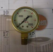 Marsh Instrument Company High Pressure Gauge