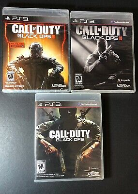 Call Of Duty Black Ops 3 Game Bundle 1 2 3 Ps3 New Ebay
