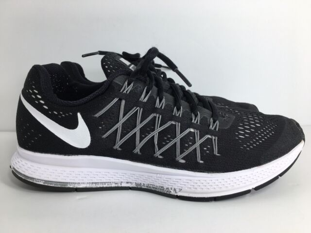new products 23776 63767 Nike Air Zoom Pegasus 32 Running Shoes Black White Dark Grey 749340 001
