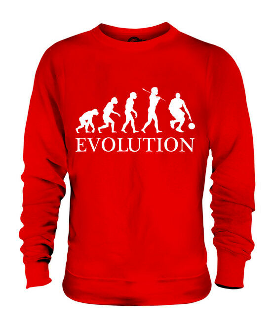 BASKETBALL EVOLUTION OF MAN UNISEX SWEATER MENS WOMENS LADIES GIFT CLOTHING