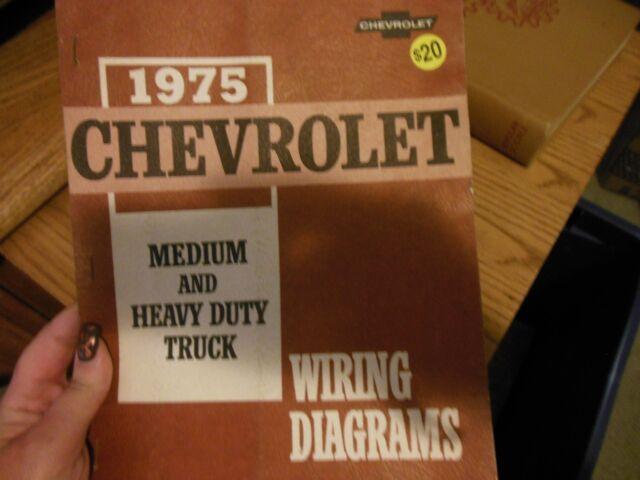 1975 Chevrolet Medium And Heavy Duty Truck Wiring Diagrams