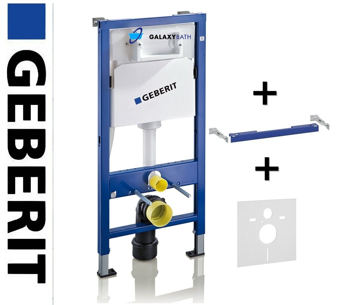 Geberit duofix basic wall hung wc toilet frame up100 delta for Geberit toilet system