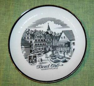 Hutschenreuther-Bad-Orb-Wandteller-Teller-Porzellan-Hessen-MKK