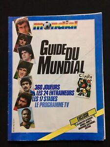 MAGAZINE-MONDIAL-GUIDE-DU-MUNDIAL-ESPANA-82-WORLD-CUP-1982