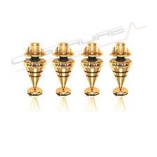 VIABLUE 50205 HS SPIKES kit 4 punte diffusori casse hi-fi high-end - piedino ORO