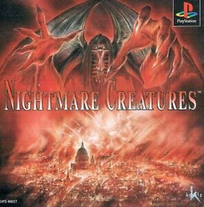 USED-PS1-PS-PlayStation-1-Nightmare-Creatures-Japan-import