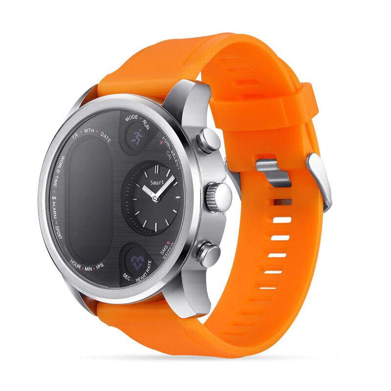 T3 Pro Men's Sport Watch Smartwatch Waterproof Dual Display Heart Rate Monitor