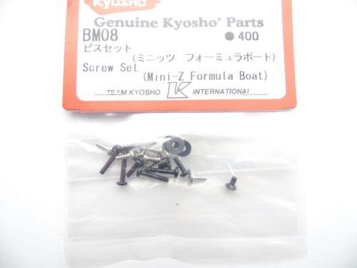 KYOSHO BM08 Screw Set  Mini-Z Formula Boat