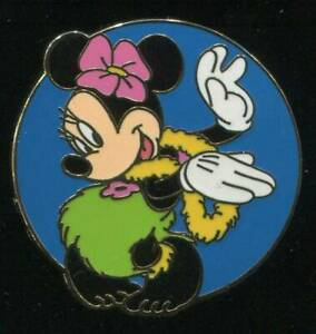 WDW-Cast-Lanyard-Series-2002-Hula-Minnie-Disney-Pin-12813