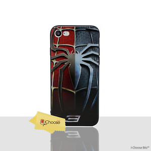 Spiderman-3D-Marvel-Gel-Case-Cover-for-Apple-iPhone-5-5s-SE-Screen-Protector
