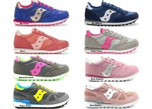 Saucony-Jazz-e-Shadow-Sneakers-Donna-Bambini-Scarpa-Casual-Sportiva