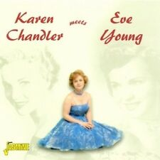 KAREN & YOUNG,EVE CHANDLER - KAREN CHANDLER MEETS EVE YOUNG  CD NEU