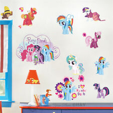 My Little Pony Removable Kids Wall Art Stickers Nursery Decor Girls Vinyl  Decal