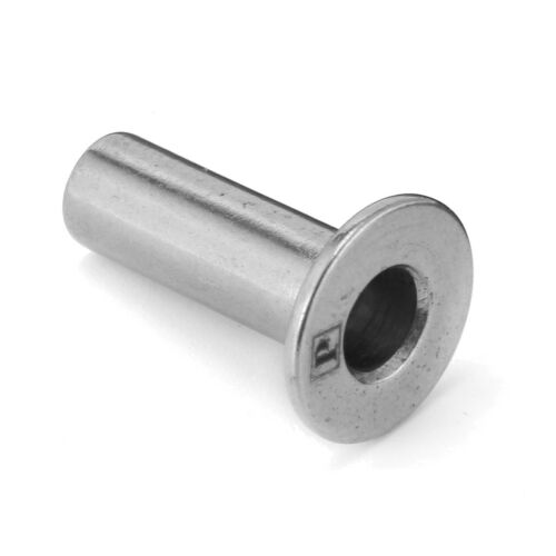 """10X T316 Stainless Steel Protective Protector Sleeve for 1//8/"""" Cable Railing"""